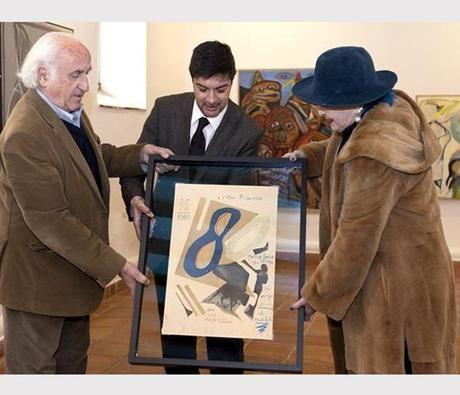 Lucia Bosé dona un Picasso a la Fundación Antonio Pérez