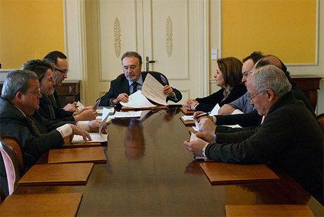 El Subdelegado del Gobierno de España en la provincia de Cuenca ha presidido la Comisión Provincial de colaboración del Estado con las Corporaciones Locales