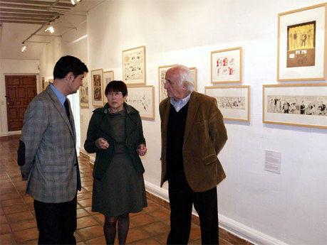 """""""100x100 cómic"""" inaugura el calendario de exposiciones en la Fundación Antonio Pérez para 2011"""