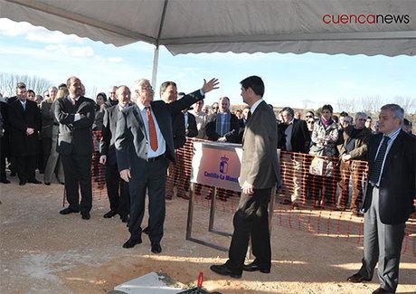 Colocada la primera piedra del futuro Hospital Universitario de Cuenca