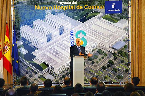 Mañana se coloca la primera piedra del nuevo Hospital Universitario de Cuenca