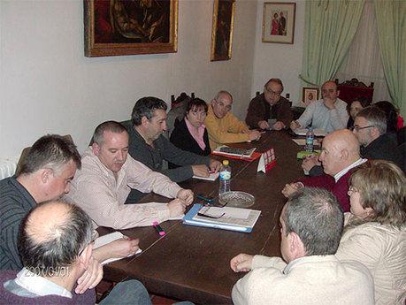 Reunión conjunta entre las Plataformas en Defensa del Ferrocarril de Cuenca  y La Alcarria
