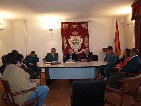 El Subdelegado del Gobierno visita Villaconejos de Trabaque