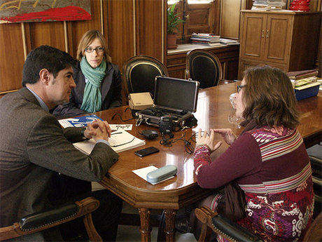Ávila se reúne  con la Asociación de Padres y Amigos de los Sordos (ASPAS)