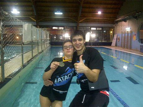 Alfonso Pérez participa este sábado en el I Campeonato Axa de Promesas Paralímpicas de Natación