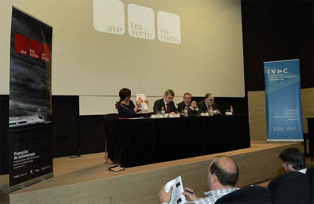Renfe, el IVAC y la ECAM emitirán el ciclo de cortometrajes 'AVE, trayecto en corto' en los trenes de Alta Velocidad que unen Valencia, Cuenca y Madrid