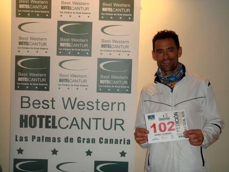 Ángel Llorens se proclama vencedor del Canarias Vertical Run
