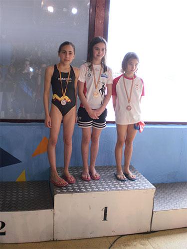 Campeonato regional de invierno de natación categorías benjamín y menores