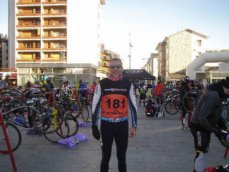 Gran actuación del triatleta conquense Pedro Rodríguez