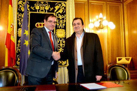 Diputación renueva su respaldo al Balonmano Ciudad Encantada con una ayuda de 65.000 euros