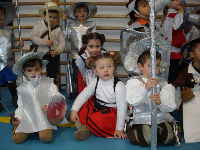 Carnaval quijotesco en el CEIP Santa Ana de Cuenca