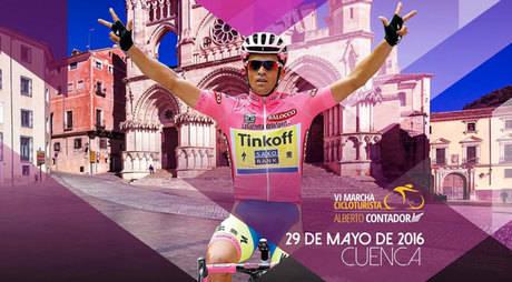 La VI Marcha 'Alberto Contador' se disputará en Cuenca, el próximo 29 de mayo