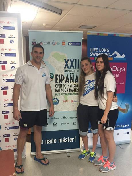 El Club Natación Cuenca en el   XXII Campeonato de España Master de Natación de Invierno