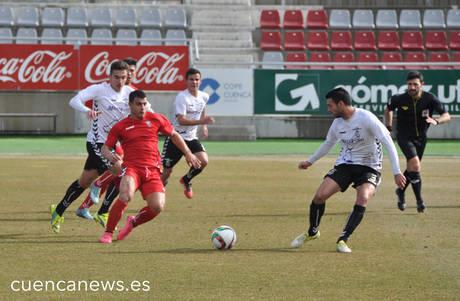 El Conquense remonta al Albacete B gracias a los goles de Samba y Gasca (2-1)