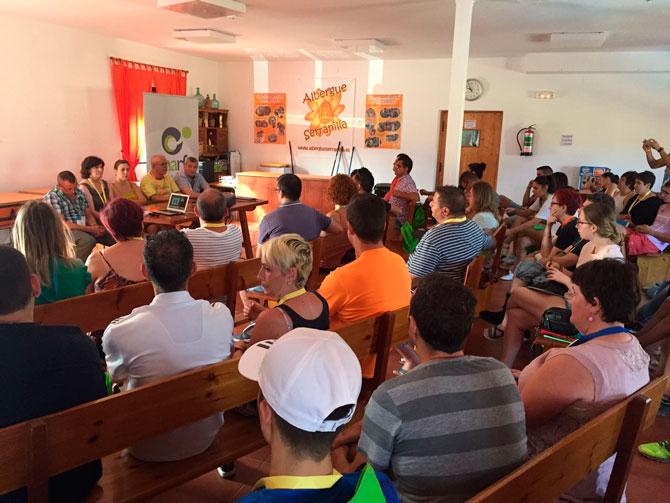 Los jóvenes de CAARFE aprenden este fin de semana habilidades sociales