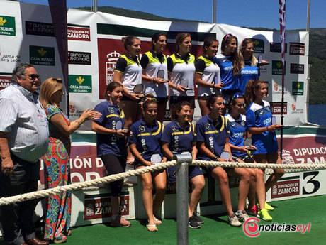 El Club Piragüismo Cuenca en el trofeo Internacional K4 Ciudad de Valladolid y en la Regata Internacional de Sanabria
