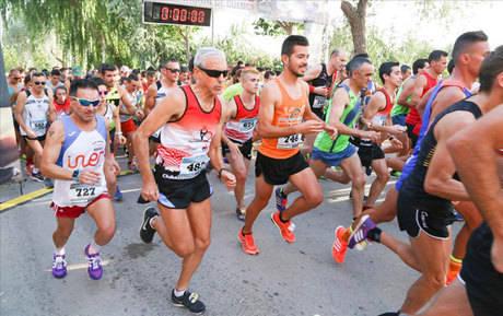 Saúl Ordoño y María Jesús Algarra reeditan triunfo en la X Carrera Popular Villa de Quintanar del Rey