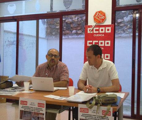 """CCOO inicia en Mota una campaña de recogida de firmas de la ILP contra la """"condena hipotecaria"""""""