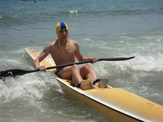 El taranconero José Alán García, campeón de Castilla-La Mancha de salvamento juvenil