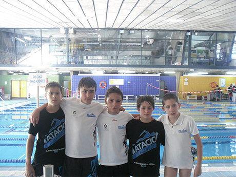 Club Natación Cuenca participo en el Campeonato Regional de Deporte Base de Natación