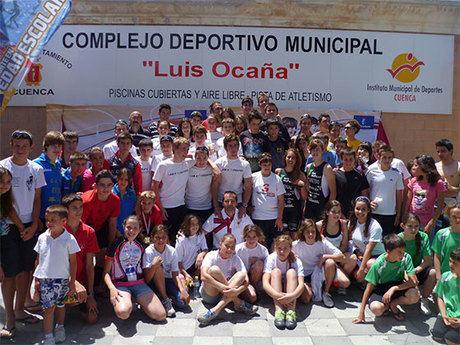 Exitoso campeonato regional de triatlón escolar