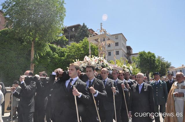 La procesión del Corpus Christi y el Descenso del Júcar ocasionarán restricciones de tráfico