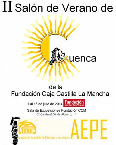 La sala de exposiciones de la Fundación Caja Castilla La Mancha acoge el II Salón de Verano de Cuenca