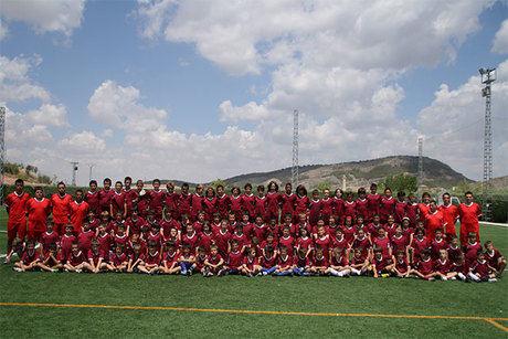 La capital acoge este verano por séptimo año consecutivo el Campus de Fútbol Ciudad de Cuenca