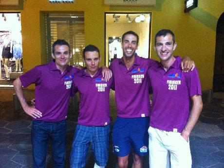El club Triatlón Hoces de Cuenca conquista el Ironman de Francia