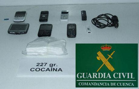 La Guardia Civil  detiene a dos personas por un presunto delito de tráfico de drogas