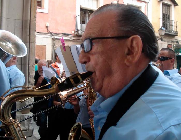 """Ángel Moreno, """"Angelete"""", patrimonio musical de Cuenca"""