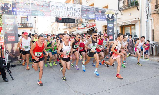 Saúl Ordoño y Mª Jesús Algarra se imponen en la 8ª cita del XV Circuito de Carreras Populares Diputación