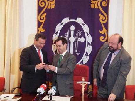El Ayuntamiento colabora con la Junta de Cofradías en la organización del programa Rutas Nazarenas