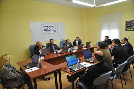 El comité ejecutivo de CEOE CEPYME Cuenca insiste en las difíciles condiciones para la actividad empresarial