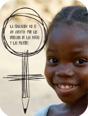 De los 69 millones de menores sin escolarizar en todo el mundo, más de la mitad son niñas