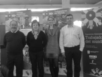 La Fundación Paz y Solidaridad de CCOO inaugura la exposición 'Trabajadoras del Mundo. Avancemos hacia la igualdad de género'