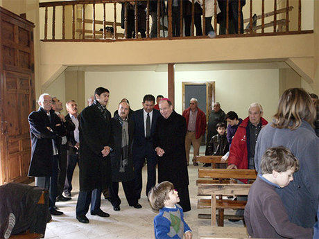 Rehabilitación total de la iglesia de Fuentesclaras con una inversión de 60.000 euros