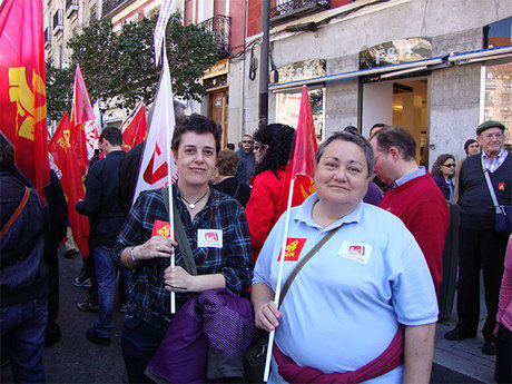 IU de Cuenca participó en la manifestación de Madrid