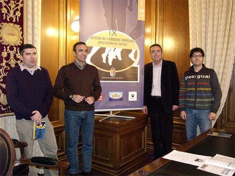 El IX Circuito de carreras populares de la Diputación Provincial contará con 19 pruebas