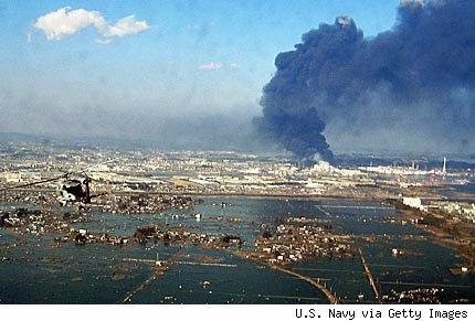 Concentración en Solidaridad con Japón y por el abandono de la energía nuclear