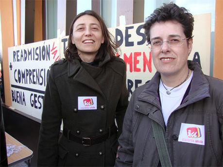 Izquierda Unida de Cuenca muestra su apoyo en la concentración de las y los trabajadores de BRIF