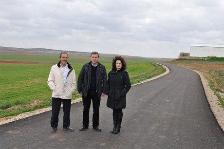 Finaliza la mejora de la pavimentación en Atalaya del Cañavate con cargo al POM de la Diputación