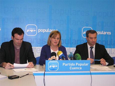 El Partido Popular de Cuenca denuncia de nuevo la falta de voluntad política del PSOE con la autovía Cuenca-Teruel