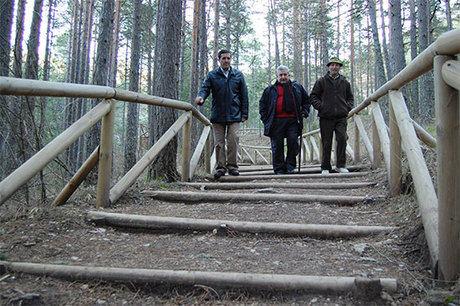 La Junta y La Caixa colaboran en la mejora de los monumentos naturales de Cuenca
