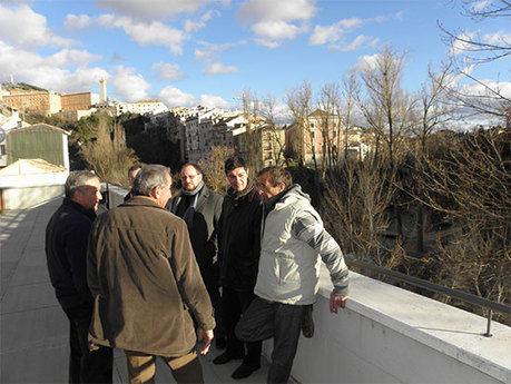 Ávila valora el trabajo de la Asociación de Vecinos de San Antón para revitalizar el barrio