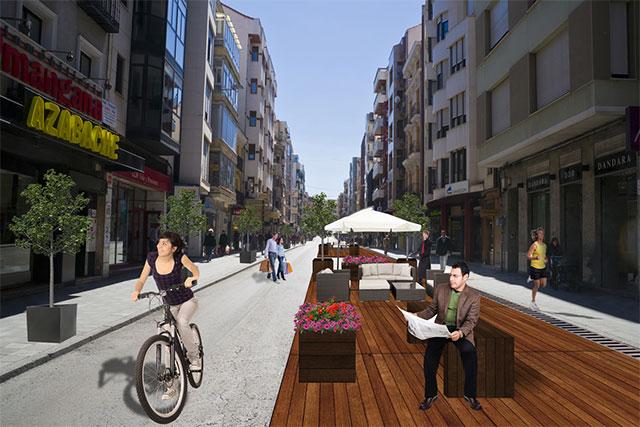 Cuenca en Bici apoya la decisión de peatonalizar el centro de la ciudad