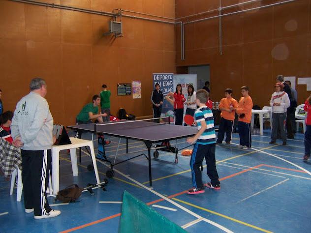 Final  del campeonato provincial tenis de mesa