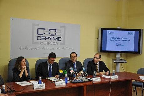CEOE CEPYME Cuenca señala la importancia de poder contar con financiación gracias a AVAL Castilla-La Mancha