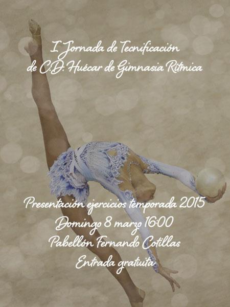 El CD Huécar organiza la 1ª jornada de tecnificación de gimnasia rítmica