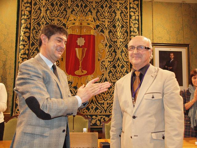 Miguel Romero toma posesión como Cronista Oficial de la Ciudad